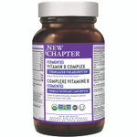 New Chapter Fermented Vitamin B Complex (30 Tablets) 727783102058
