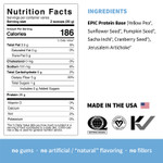 Sprout Living Epic Protein Organic Plant Protein + Superfoods 16 x 32g Pouches - Original Nutrition Facts | 852457007152