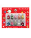 SuncoatGirl Merry Mini Manicure Kit 10 Pack|629003009775