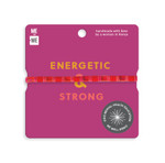 Me to We Aura Bracelet - 1 Pack - Red - Energetic and Strong  | 628499088547