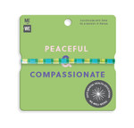 Me to We Aura Bracelet - 1 Pack - Green - Peaceful and Compassionate | 628499088561