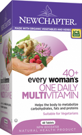 New Chapter Every Woman's One Daily 40+ Multivitamin 48 Tablets