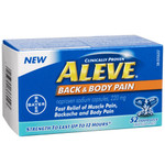 Aleve Back and Body Pain 220mg Capsules