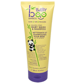 Boo Bamboo Baby Squeaky Clean Natural Baby Wash and Shampoo Unscented