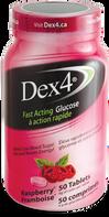 Dex4 Glucose Tablets Raspberry
