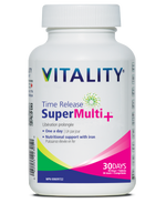 Vitality Time Release Super Multi+ Tablets
