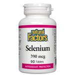 Natural Factors Selenium 200mcg 90 Tablets