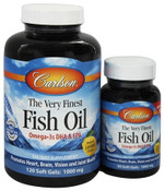Carlson Norwegian Very Finest Fish Oil Soft Gels
