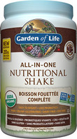 Garden of Life All-In-One Nutritional Shake Chocolate Cocoa
