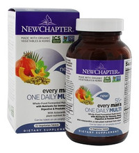 New Chapter Every Man's One Daily 55+ Multivitamin  72 Tablets | 727783101754