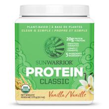 Sunwarrior Classic Protein - Vanilla 375 g | 814784020044