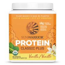 Sunwarrior Classic Plus Protein Vanilla 375 g | 814784020044