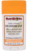 NutriBiotic Long Lasting Deodorant | 728177010676
