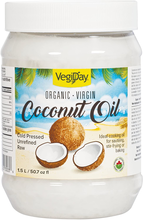 VegiDay Organic Virgin Coconut Oil 1.5 ml | 628235330343