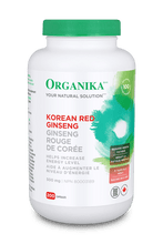 Organika Korean Red Ginseng 500mg | 620365015213