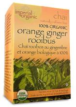 Uncle Lee's Tea Imperial Organic Orange Ginger Rooibos Chai Tea |  879792000082