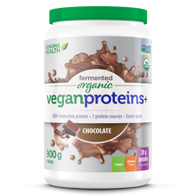 Genuine Health Fermented Organic Vegan Proteins+ Chocolate | 624777009860