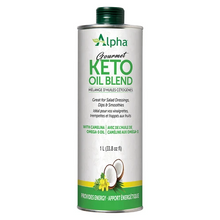 Alpha Health Gourmet Keto Oil Blend for Salad Dressings, Dips, Smoothies 1L    620031207317