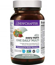 New Chapter Every Man's One Daily 40+ Multivitamin 72 Tablets | 727783100054