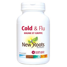New Roots Herbal Cold and Flu 15 veg capsules | 628747122030