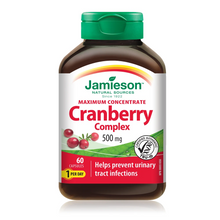 Jamieson Maximum Concentrate Cranberry Complex 500mg 60 Capsules | 064642021632