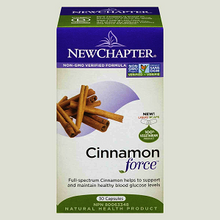 New Chapter Cinnamon Force 30 Liquid Capsules | 727783100689