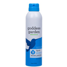 Goddess Garden Organics Sport Continuous Spray Natural Sunscreen SPF 30 | 898062001659
