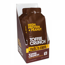 Nuts 'N More Toffee Crunch High Protein + Peanut Spread 10 Pouches x 34 grams | 706954923906