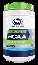 PVL 100% Pure BCAA Blue Raspberry 1000 grams | 627933028668