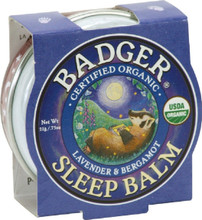 Badger Balm Sleep Balm Lavender and Bergamot | 634084026122