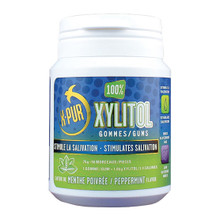 Oral Science X-PUR Xylitol Gum Peppermint 50 Count | 663635000311