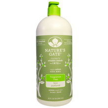 Nature's Gate Fragrance Free Lotion 946mL