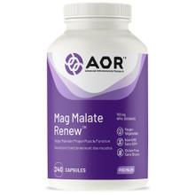 AOR Mag Malate Renew 793mg 240 Veg Capsules | 624917044294