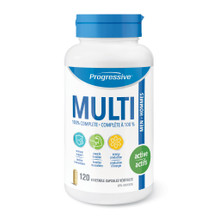 Progressive MultiVitamins for Active Men - 120 Vegetable Capsules | 837229000074