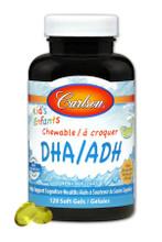 Carlson Kids Chewable DHA - Great Orange Taste 120 Softgels | 088395015717