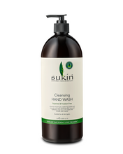 Sukin Cleansing Hand Wash 1 L | 9327693000218