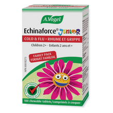 A. Vogel Echinaforce Cold and Flu Junior 180  Chewable Tablets | 058854996086