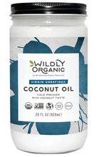Wildly Organic Virgin Unrefined Cold Pressed Coconut Oil  828ml | 0898392004030