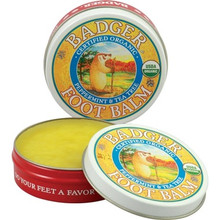 Badger Balm Foot Balm Peppermint and Tea Tree | 634084025019