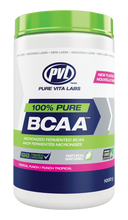 PVL 100% Pure BCAA Tropical Punch 1000 grams | 627933028682