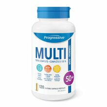 Progressive MultiVitamins for Men 50+ - 120 Vegetable Capsules | 837229000128