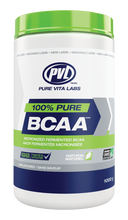 PVL 100% Pure BCAA Unflavoured 1000 grams | 627933028675