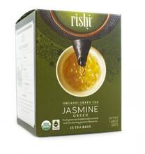Rishi Tea Jasmine Organic Green Tea 15 bags | 741391974609