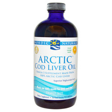 Nordic Naturals Arctic Cod Liver Oil Liquid-Orange 473 ml | 768990747878