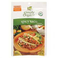 Simply Organic Spicy Taco Seasoning | 089836200038