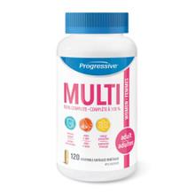 Progressive MultiVitamins for Adult Women - 120 Vegetable Capsules | 837229000043