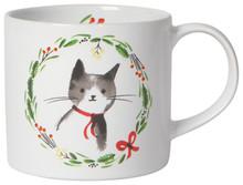 Now Designs Jingle Cat Mug In A Box   64180260791