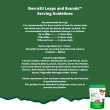 SierraSil Leaps and Bounds Chicken Flavoured Soft Chews for Dogs 100 Count | 897871000532