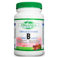 Organika Vitamin B-Complex High Potency 120 Tablets