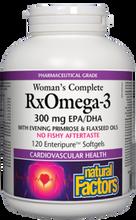 Natural Factors Women's Complete RxOmega-3 300mg 120Softgels | 068958035772